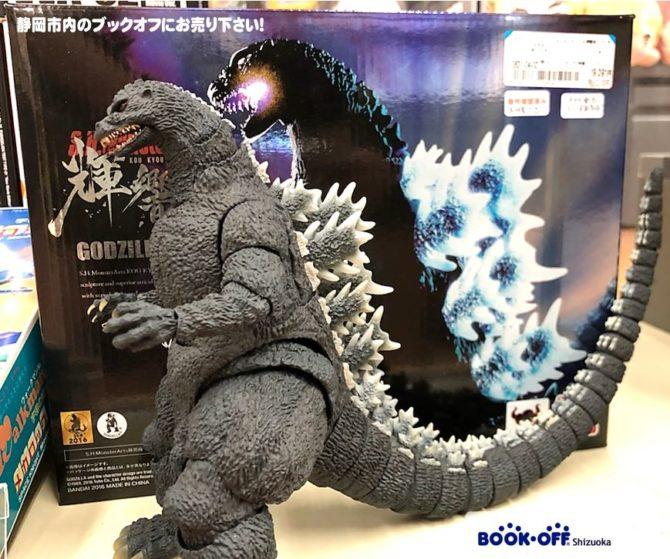 ブックオフ清水岡町店で 『BANDAI SPIRITS S.H.MonsterArts 輝響曲 ゴジラ(1989) 』をお買い取り!人気の「フィギュア・グッズ」買取強化中