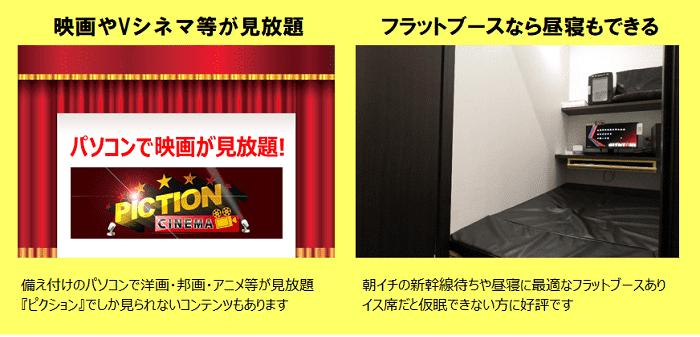 インターネットルームHITOTOKI(旧:まんが喫茶ひととき)のマンガ・雑誌・映画見放題サービス