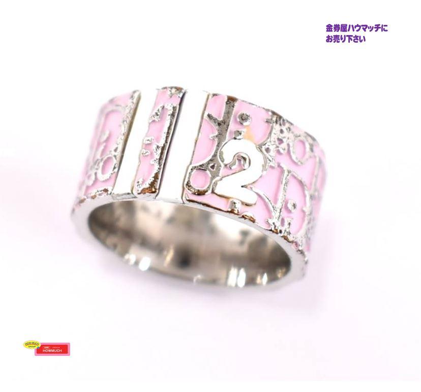 クリスチャンディオール(Christian Dior)ピンク トロッターリング をお買い取り!ブランドバッグ・小物買取なら静岡市街中の金券屋ハウマッチ葵タワー地下店