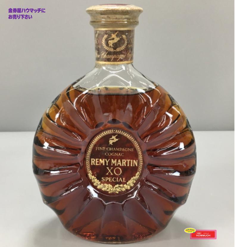 レミーマルタン(REMY MARTIN) XO SPECIAL  コニャック ブランデー 旧ラベル をお買取り! 未開栓のウイスキー・ブランデーお酒買取なら金券屋ハウマッチ葵タワー地下店