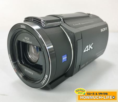 ソニー (SONY) デジタル4Kビデオカメラレコーダー (FDR-AX40) 2017年製 をお買い取り!