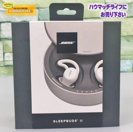 【未開封】ボーズ(BOSE)睡眠用 イヤホン N-M sleepbuds 2 5V WW をお買い取り!