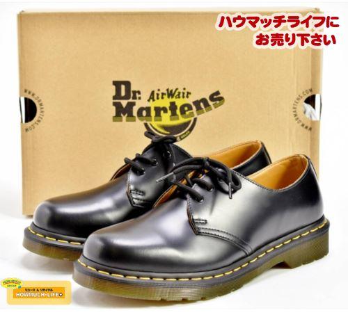 【未使用】ドクターマーチン(DR. MARTENS)メンズ 3ホールシューズ 1461 (11838002) をお買い取り! 靴・シューズ・スニーカー・ブーツの買取なら静岡市駿河区のリサイクルショップ・ハウマッチライフ静岡産業館西通り店