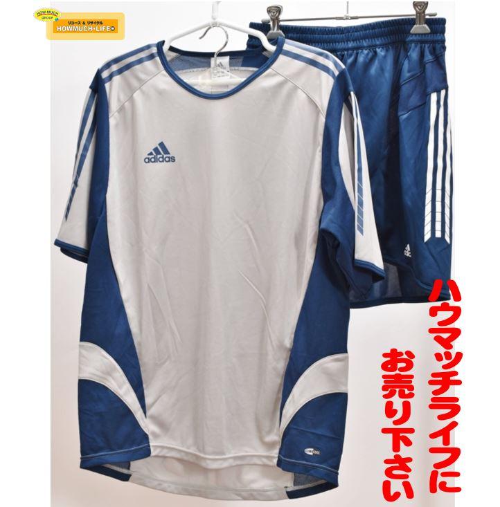 【未使用品】アディダス ( adidas ) Tシャツ ショートパンツ セットアップ をお買い取り!!