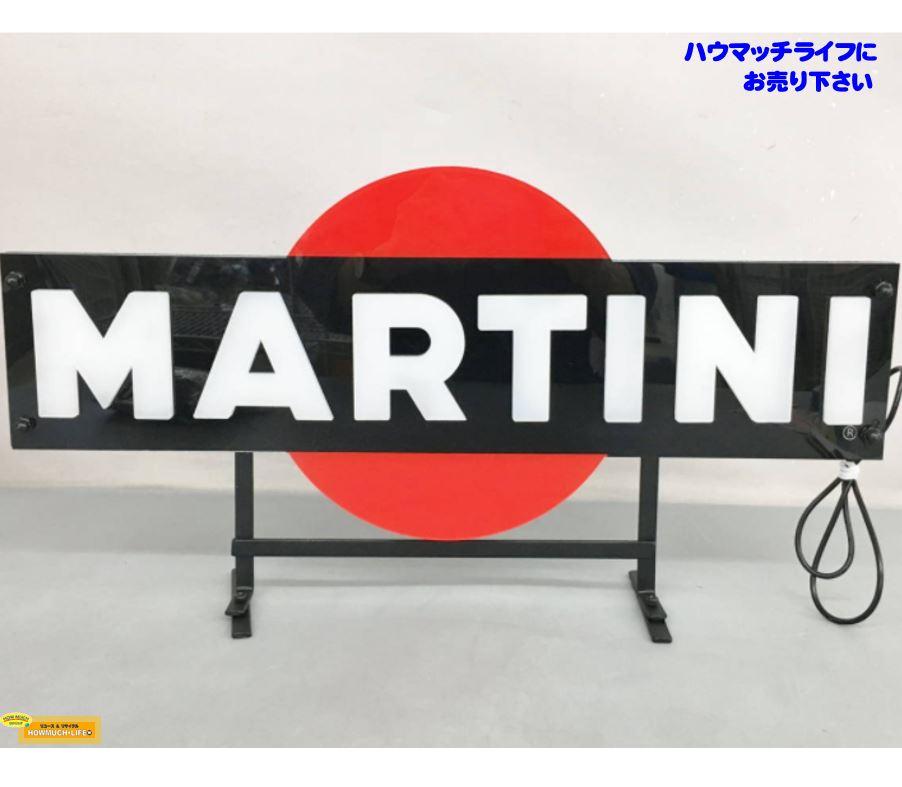 マルティーニ ロゴ 非売品 電飾看板 LED MARTINI をお買い取り!