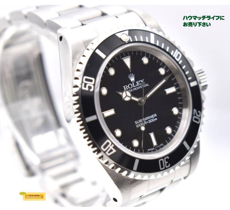 【美品】ロレックス(ROLEX)サブマリーナー ノンデイト(Ref.14060 Cal.3000)手巻き メンズ腕時計 お買い取り!