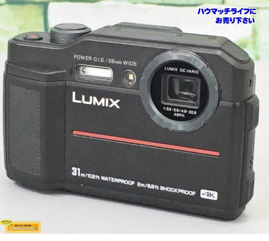 【美品】パナソニック(Panasonic)LUMIX DC-FT7 防水 耐衝撃 4K動画対応 デジタルカメラ