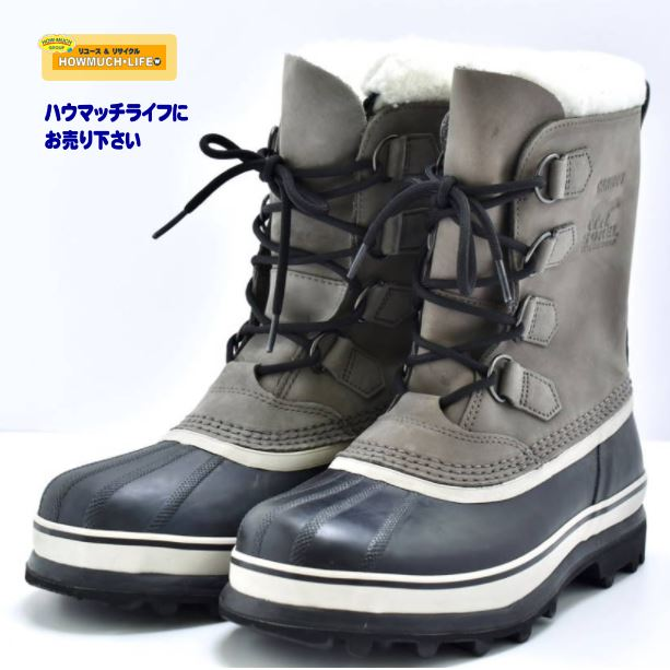 【未使用】ソレル(SOREL) CARIBOU カリブー レディース スノーブーツ(1003812-051)をお買い取り! 靴・スニーカー・ブーツの買取なら静岡市葵区のリサイクルショップ・ハウマッチライフ静岡流通通り店